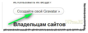 Что такое граватар? Создать граватар