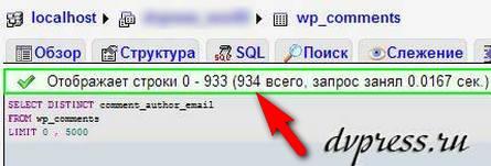 Как собрать e-mail адреса всех комментаторов на блоге