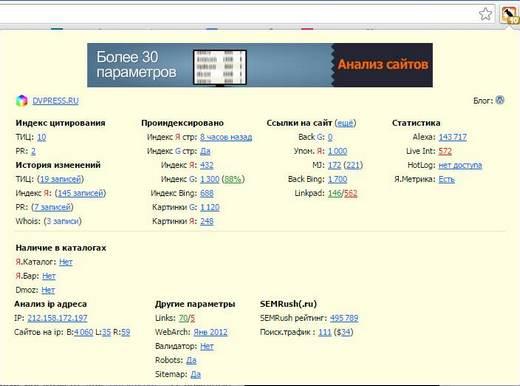 Плагин RDS bar для SEO оптимизаторов и вебмастеров: обзор, установка и настройка