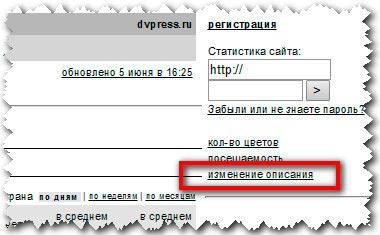 Как создать гостевой пароль к статистике Liveinternet