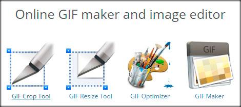 Редактора «Ezgif.com» для редактирования анимационных GIF картинок