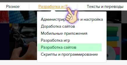 Поиск заказов на сайте Kwork.ru