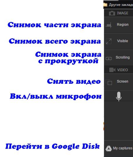 Расширение TechSmith Snagit для создания скришотов и записи видео