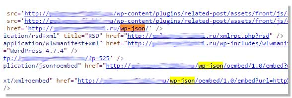 Как удалить WP-JSON и oEmbed с сайта WordPress