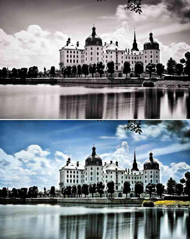 Colourizer ак сделать из черно-белой фотографии цветную онлайн