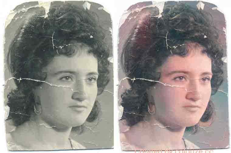 Colorize сделать из черно белой фотографии цветную онлайн