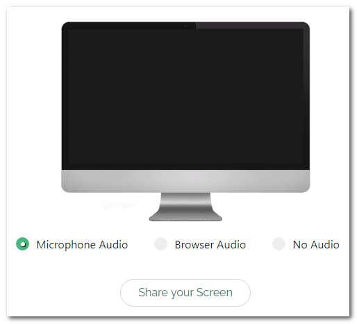 Сервис Screenapp для записи экрана компьютера
