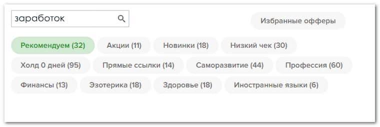 партнерские программы для заработка в интернете