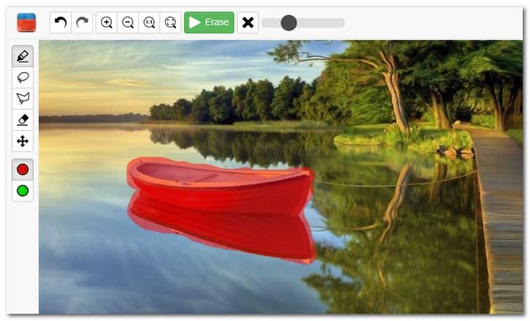 удалить водяные знаки онлайн