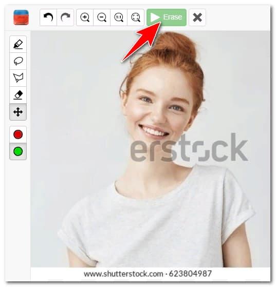 убрать водяной знак с фото онлайн бесплатно